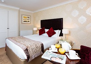Red Hall Hotel nav-classic Room Plans & Dimensions